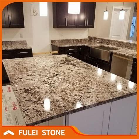 Lowes White Colors Bianco Antico Granite Prefab Kitchen
