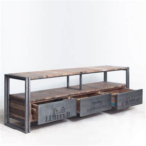 bas de cuisine pas cher meuble tv industriel pas cher