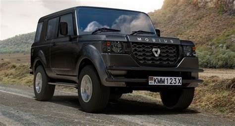 New Mobius II Is A Tough And Cheap SUV Built For Africa ...