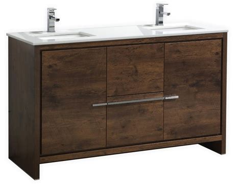 Sink Vanity Top 60 Inch by 60 Inch Wood Modern Sink Bathroom Vanity With