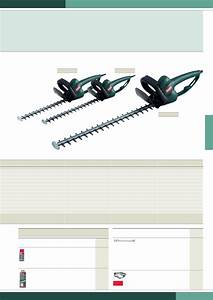 Page 4 Of Metabo Trimmer Hs