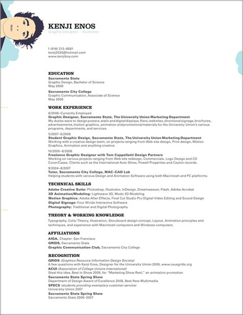 Designed Resume by 27 Exles Of Impressive Resume Cv Designs Dzineblog