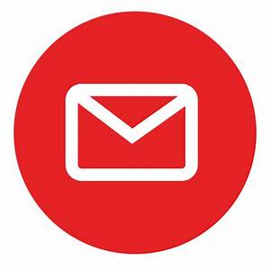 Email Inbox Circle PNG Clipart Image Icon Free