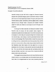 how to write a summary response paper