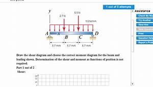 32 Problem 778 Part A Draw The Shear Diagram For The Beam