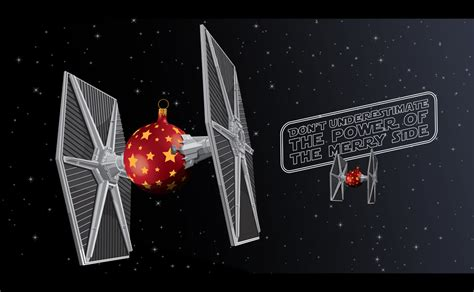 Are you interested in our starwars star wars jedi? New STAR WARS Christmas Card Features Tie Fighter Ornament Balls — GeekTyrant