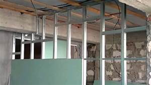 Rigips Trennwand Kosten : trennwand selber bauen trennwand rigips trockenbau selber machen youtube ~ Sanjose-hotels-ca.com Haus und Dekorationen