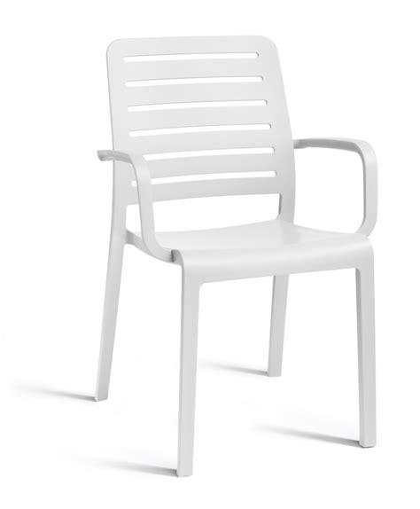 chaise de jardin blanche allibert chaise de jardin country avec accoudoir