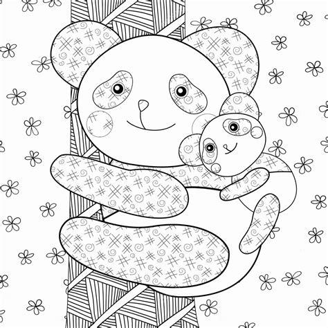 Kleurplaat Pandabeer by Kleurplaat Pandabeer Uniek Baby Kleurplaat Archidev