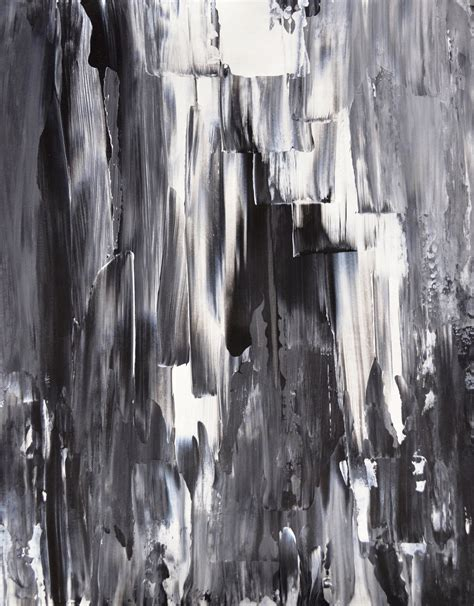 Abstract Painting Black And White by Acrylic Abstract Painting Black White Grey Modern