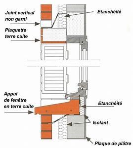 Appui De Fenetre Pvc : appui de fen tre sur un mur de ma onnerie d tails ~ Premium-room.com Idées de Décoration