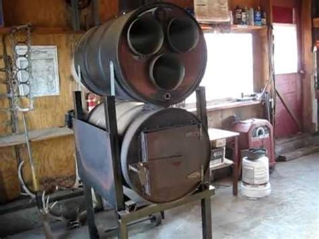 barrel wood stove youtube