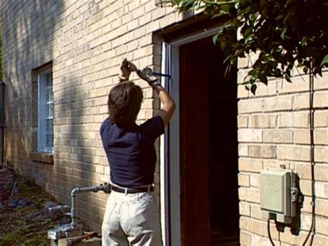 install bedroom door how to install a pre hung exterior door how tos diy