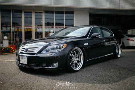 cool lexus ls 460 nicely stanced aimgain japan lexus ls 460 l autoevolution