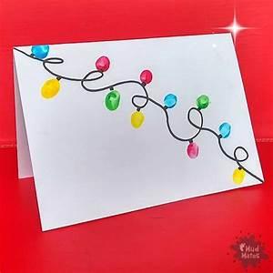 Fingerprint Christmas Cards A Fun Simple Kids Craft
