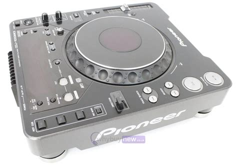 Pioneer Cdj1000 Mk3 Dj Cd Player Deck Whybuynew