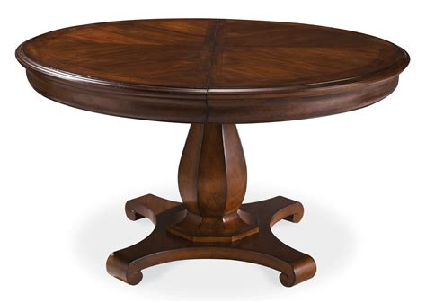 all wood dining table cool round wood dining table on round french country