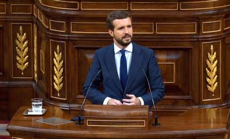 El portavoz socialista reprocha al alcalde que la moción de censura que han presentado es fruto de la. Pablo Casado dice 'no' a la moción de censura presentada por VOX en el Congreso - INFO BIERZO