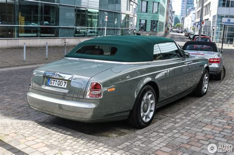 rolls royce phantom drophead coupe  august