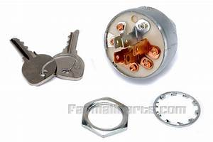 Ignition Switch - With Key For 464  574 - Ignition And Light Parts