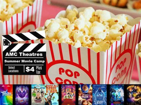amc theatre summer movies deal  kids