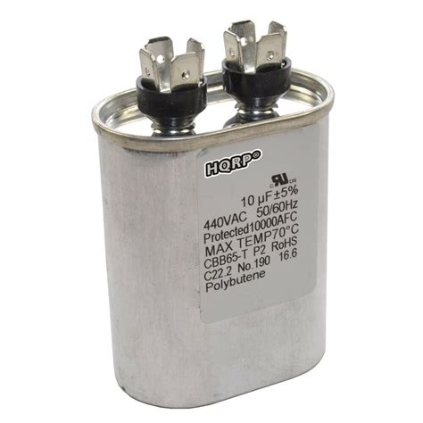 Electric Motor Capacitor by 10uf Capacitor Ac Electric Motor Run Start Hvac Blower