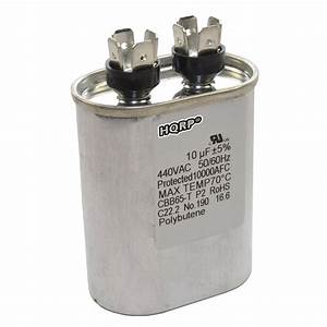 10uf Capacitor Ac Electric Motor Run Start Hvac Blower