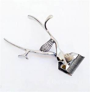Vintage Barber Hand Clipper Portable Hair Trimming Manual