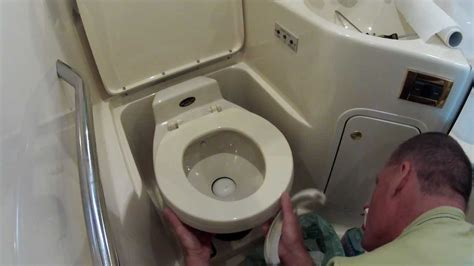 boating   vacuflush marine toilet seal replacement