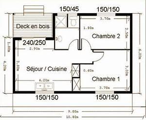 plan architecte maison 50 m2 With superb maison de la fenetre 16 bricobilly plans
