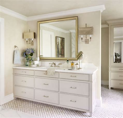Bathroom Vanity Decorating Ideas by Decorating Bath Vanities Traditional Home