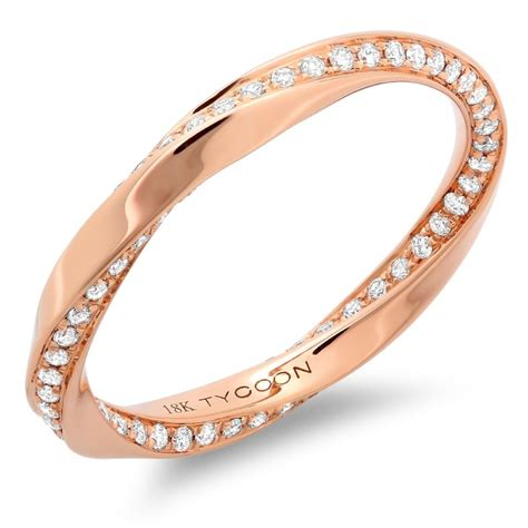 unique rose gold wedding bands wedding and bridal