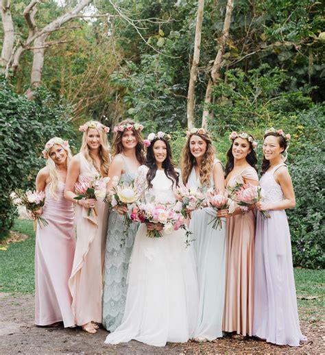 bohemian florida garden wedding alex green