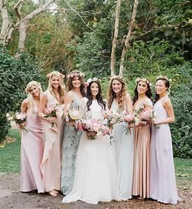 bohemian florida garden wedding brittney alex green With garden wedding bridesmaid dresses