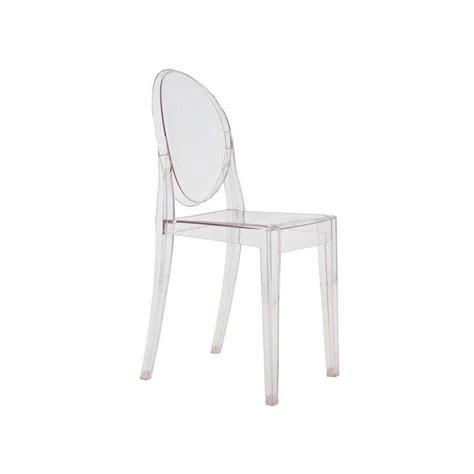 chaise ghost starck chaise ghost par philippe starck kartell ganj