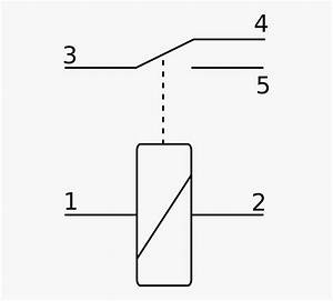 Relay Electronic Symbol Schematic Wiring Diagram