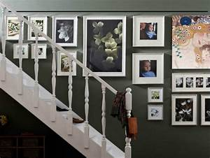 ideas para decorar la pared de la escalera Casa Web