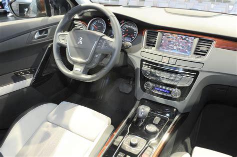 peugeot 508 interior peugeot 508 rxh crossover 2012 frankfurt 2011 garage car
