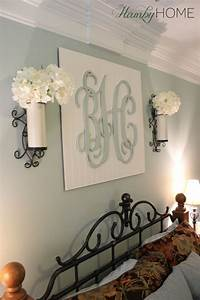 DIY Monogram Wall Art | The Hamby Home | Can Do Pinners ...