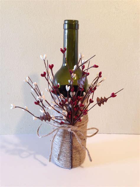 Decorate Wine Bottles - wine decor twine wine bottles wine bottles decorated by