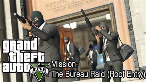 gta v bureau missions grand theft auto gta v mission the bureau raid roof