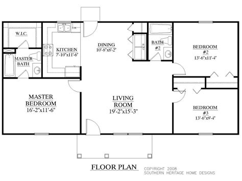 Luxury 2500 Sq Ft Ranch House Plans