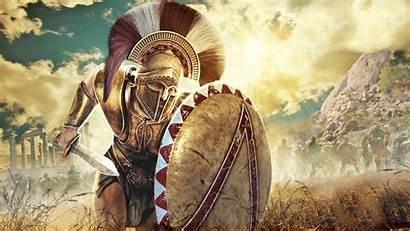 Hoplite Spartan Greek Ancient Battle Warrior War