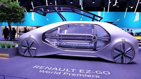 Renault Ez-go At The Geneva Motor Show 2018