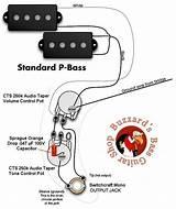 Fender Precision Bass Wiring Diagram