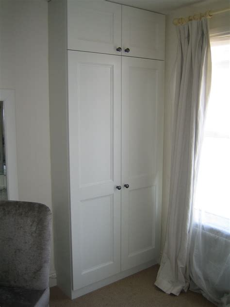 Built In Cupboards Diy by Traditional Wardrobe In Alcove Closet Build Bedroom