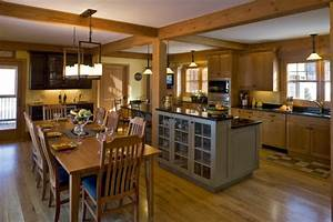 La cuisine ouverte sur la salle a manger 55 photos for Plan de cuisine ouverte sur salle a manger