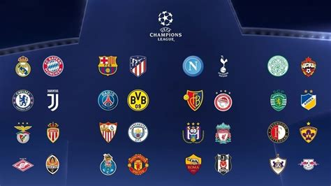 champions league group stage squads confirmed uefa champions league news uefacom