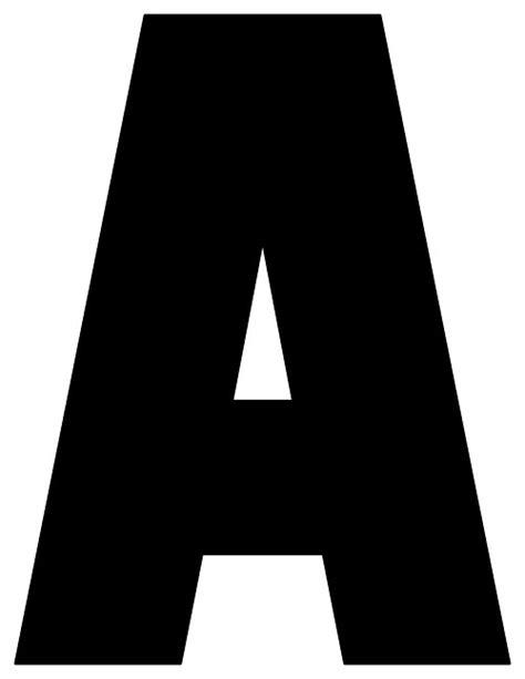 black printable letters     printable