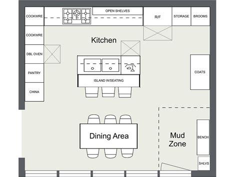kitchen floor plan ideas 7 kitchen layout ideas that work roomsketcher
